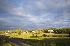 Schweden-Landschaft lizenzfreies stockbild