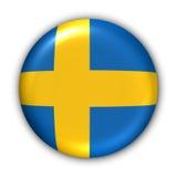 Schweden-Markierungsfahne Lizenzfreies Stockbild