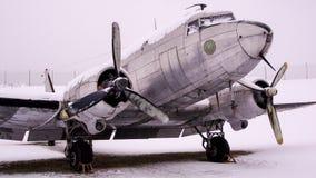 Schwedeversion TPs 79 von Douglas-C-47 Skytrain stockbild