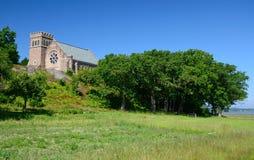 Schwedische alte Kathedrale Lizenzfreie Stockfotos