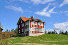 Schwedische Architektur Lizenzfreies Stockbild