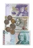Schwedische Krona Lizenzfreie Stockfotografie