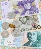 Schwedische Krona. Lizenzfreie Stockfotos