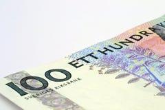 Schwedische Krona Stockfotografie