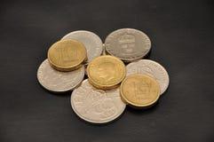 Schwedische Krona der Münzen Lizenzfreie Stockbilder