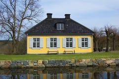 Schwedische Landwirtschaft lizenzfreies stockbild