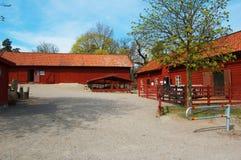 Schwedische Landwirtschaft lizenzfreie stockfotos