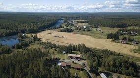 Schwedische Natur Lizenzfreie Stockfotografie