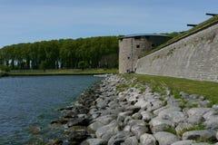 Schwedische Sommerstadtlandschaft Lizenzfreies Stockbild