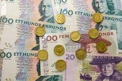 Schwedische Währung Lizenzfreies Stockfoto