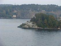 Schwedischer Felsen stockbild