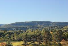 Schwedischer Hügel Stockfotos