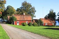 Schwedischer Idyll Stockfotografie