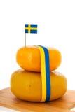 Schwedischer Käse Lizenzfreies Stockbild