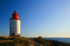 Schwedischer Leuchtturm Stockfotos