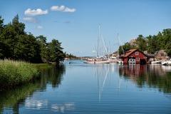 Schwedischer Sommer Stockfotos