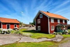Schwedischer Sommer lizenzfreies stockbild