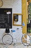Schwedisches Fahrrad. Stockbilder