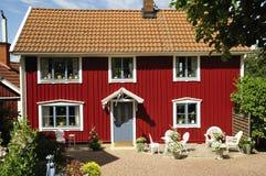 Schwedisches Gehäuse Stockfotografie