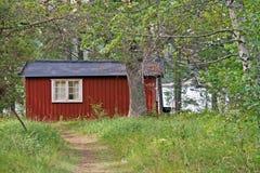 Schwedisches Haus Lizenzfreies Stockfoto
