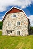 Schwedisches Museumshaus Stockfotografie