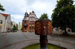 Schwedt στην Ανατολική Γερμανία Στοκ φωτογραφίες με δικαίωμα ελεύθερης χρήσης