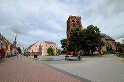 Schwedt en Allemagne de l'Est photos stock