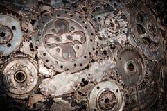 Schweißender Nahtmetallhintergrund Stockbilder