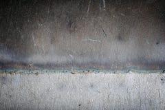 Schweißendes altes Eisen der Naht Lizenzfreie Stockfotografie