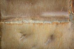 Schweißendes altes Eisen der Naht Stockbilder