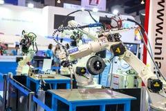 Schweißer Roboter Stockfotografie