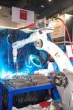 Schweißer Roboter Lizenzfreies Stockbild