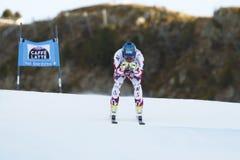 SCHWEIGER Patrick in FIS Alpien Ski World Cup - 3de SUPER MENSEN Royalty-vrije Stock Afbeeldingen