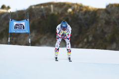 SCHWEIGER Patrick i FIS alpina Ski World Cup - 3rd toppna MÄN Royaltyfria Bilder