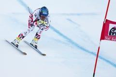 SCHWEIGER Patrick i FIS alpina Ski World Cup - 3rd toppna MÄN Arkivfoton