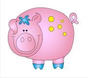 Schwein Lizenzfreie Stockfotografie