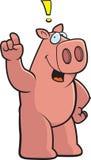 Schwein-Ausruf lizenzfreie abbildung