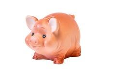 Schwein Der weichen Spielzeugkinder Lizenzfreie Stockfotos