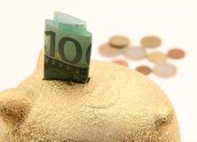 Schwein moneybox Stockbild