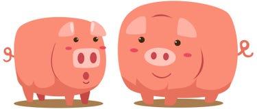 Schweine Lizenzfreie Stockbilder