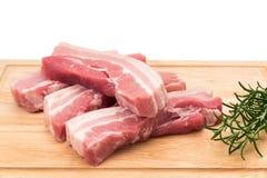 Schweinebauchscheiben Lizenzfreies Stockbild