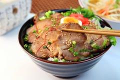 Schweinefleisch bowl  Lizenzfreies Stockfoto