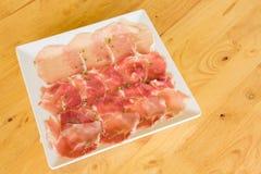Schweinefleisch-Dia-Gesundheit Stockbild