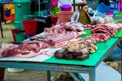 Schweinefleisch-Shop Stockfoto