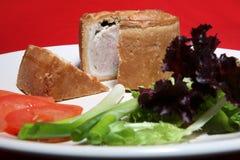 Schweinefleisch-Torte lizenzfreie stockfotografie