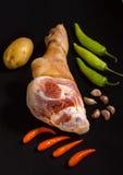 Schweinefleischbein Stockfotografie