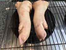 Schweinefleischbein Lizenzfreie Stockfotos