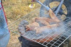 Schweinefleischfeuer thailändische Art Stockfotografie