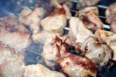 Schweinefleischgrill Stockbild