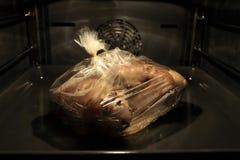 Schweinefleischknöchel im Bäckereiärmel lizenzfreies stockbild